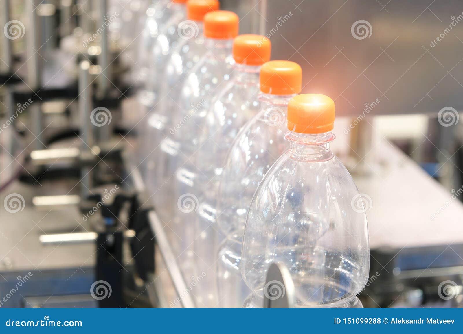 Bottiglia Produzione industriale delle bottiglie di plastica dell animale domestico Linea della fabbrica per le bottiglie fabbric