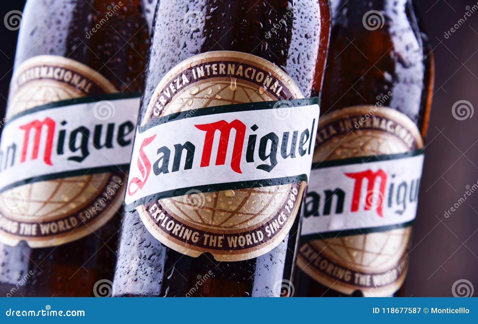 Bottiglie di San Miguel Beer