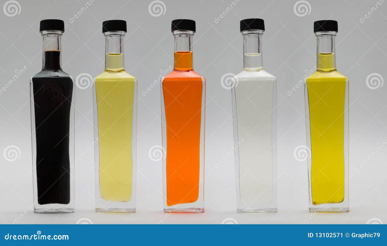 Bottiglie di vetro di olio immagine stock immagine di bevanda 13102571 - Bottiglie vetro ikea ...