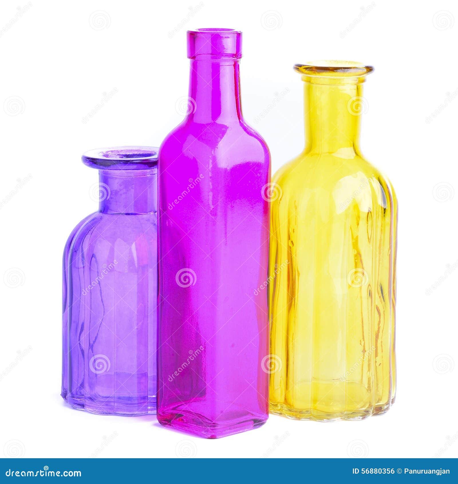 Bottiglie variopinte