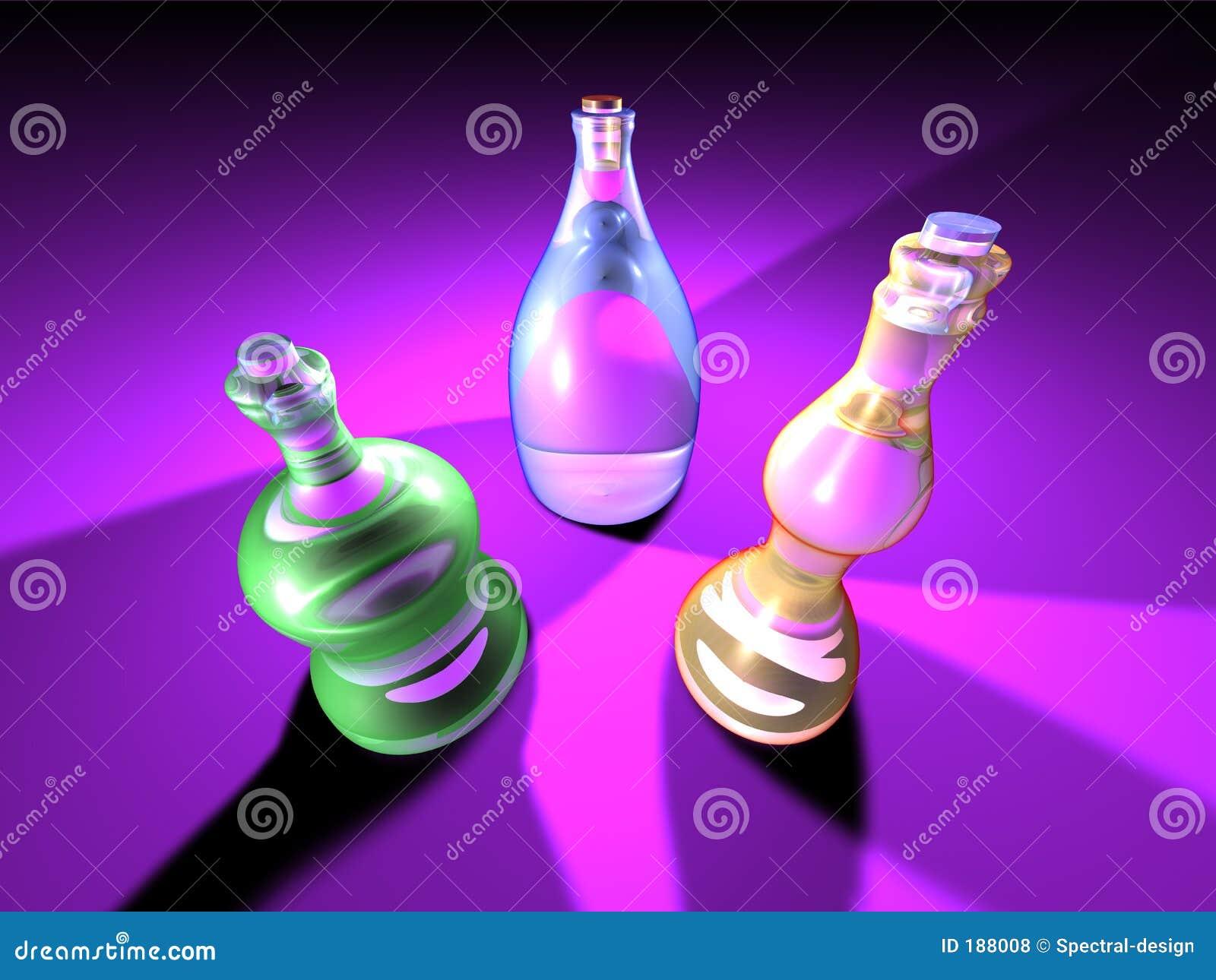 Bottiglie vistose 2