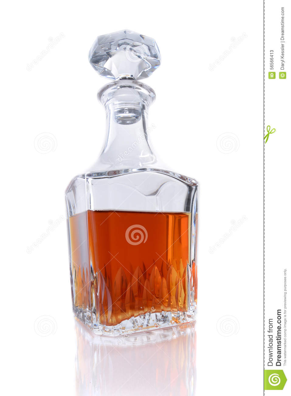 bottle of bourbon whiskey on a white background stock image image 56566413. Black Bedroom Furniture Sets. Home Design Ideas