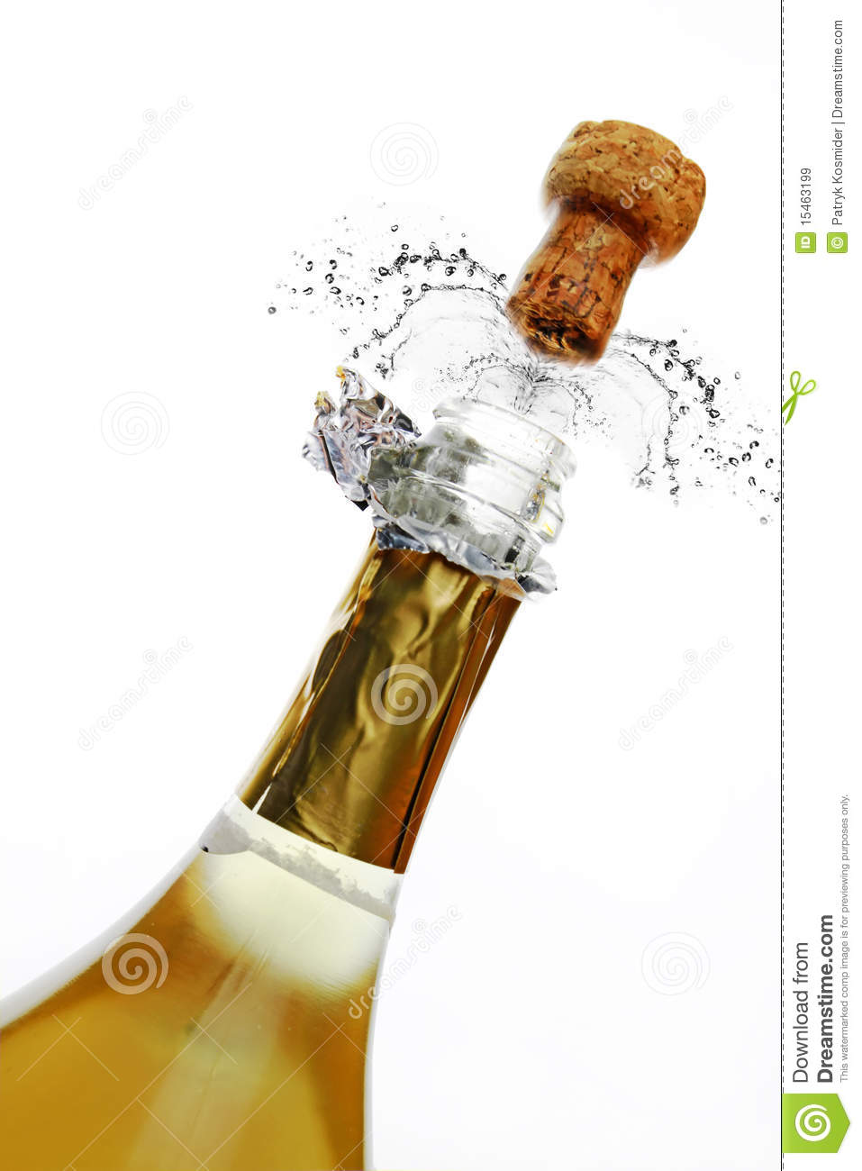 Bottle Of Champagne Royalty Free Stock Images - Image: 15463199