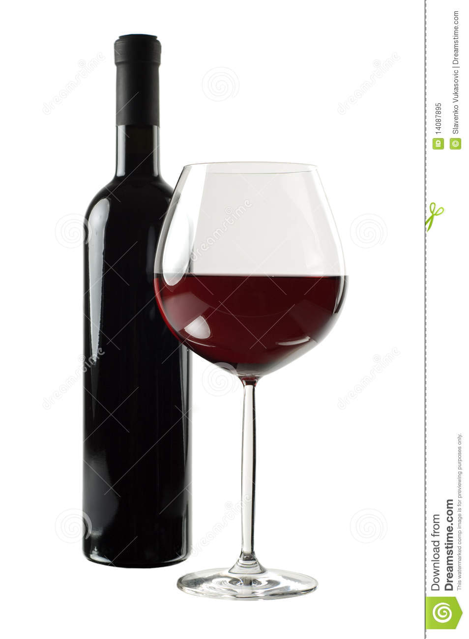 bottle and glass of red wine bottle red wine