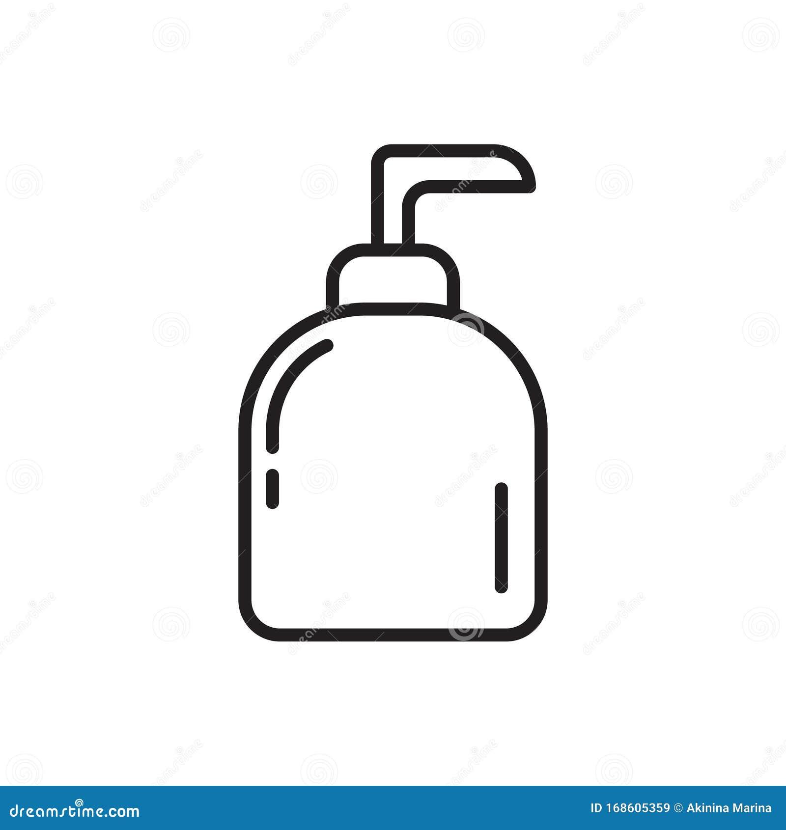 Hand Drawn Soap Logo Template