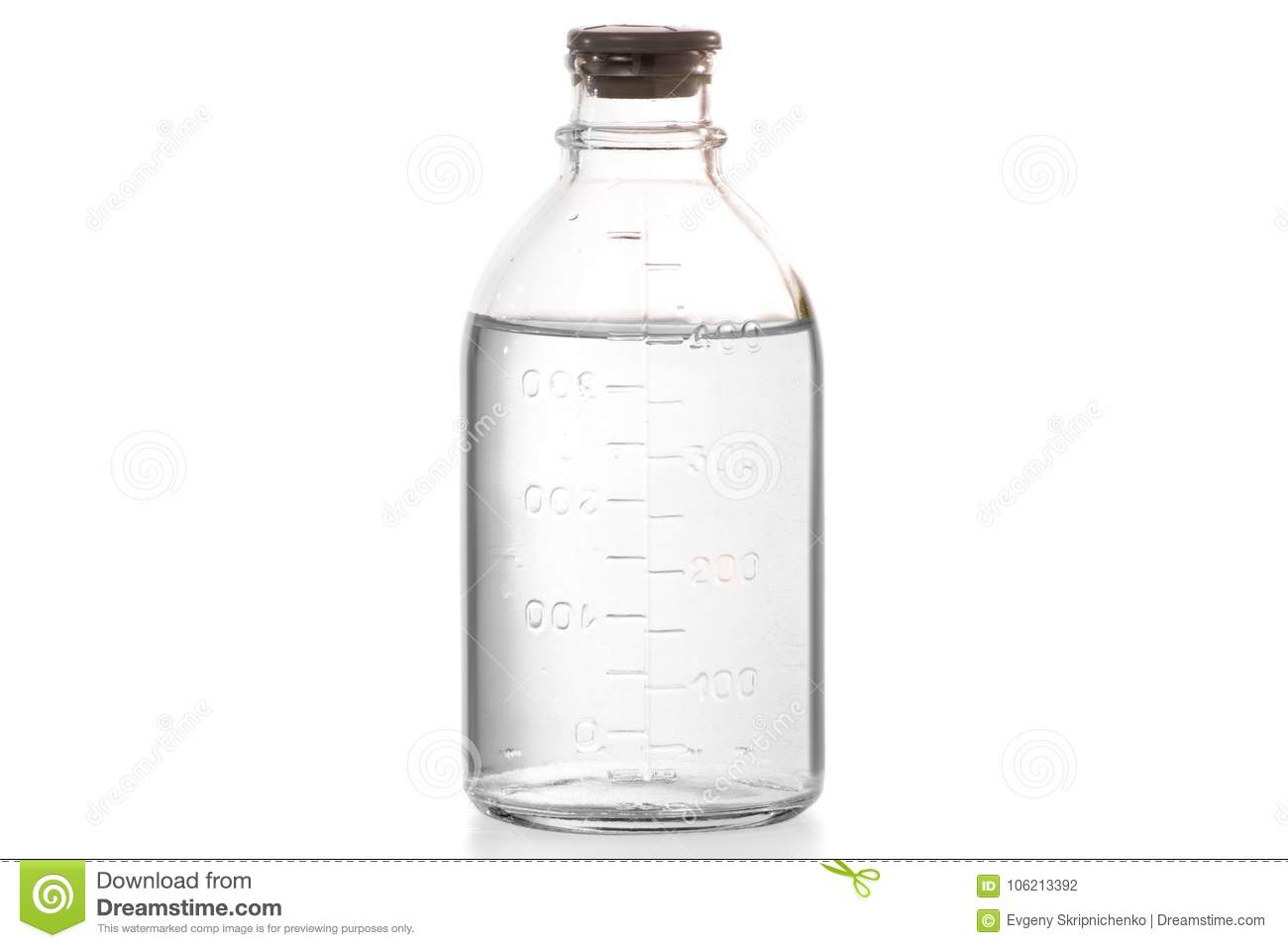 Bottle With Medical Alcohol Disinfection Stock Photo - Image of care
