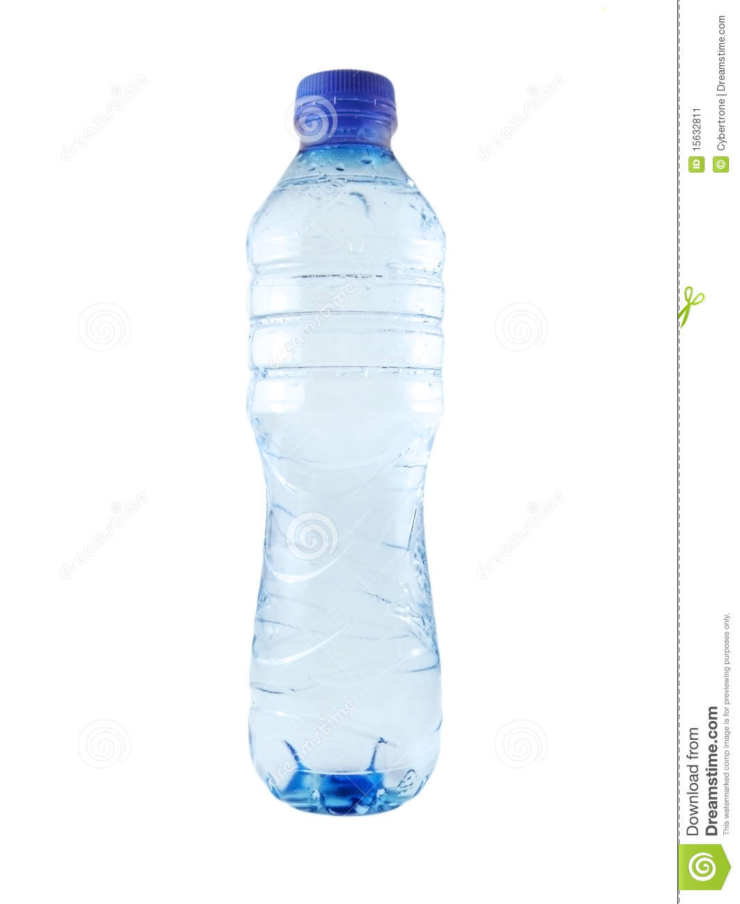 Bottle of mineral water stock image. Image of clean ...