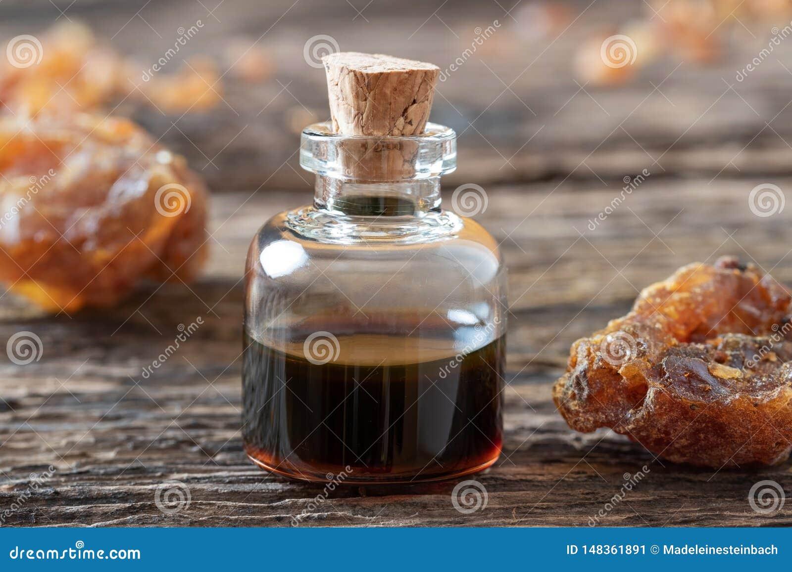 how to make myrrh oil from resin