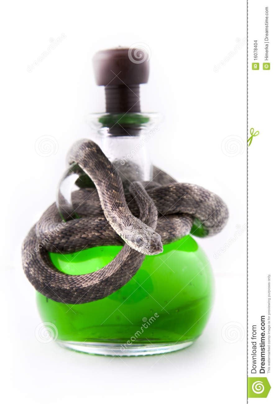 The Bottle Of Poison Stock Images Image 16078404