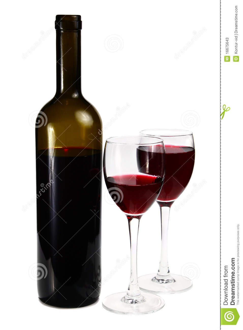 Bottle with red wine and glass stock photos image 16675643 for Wine bottle glass
