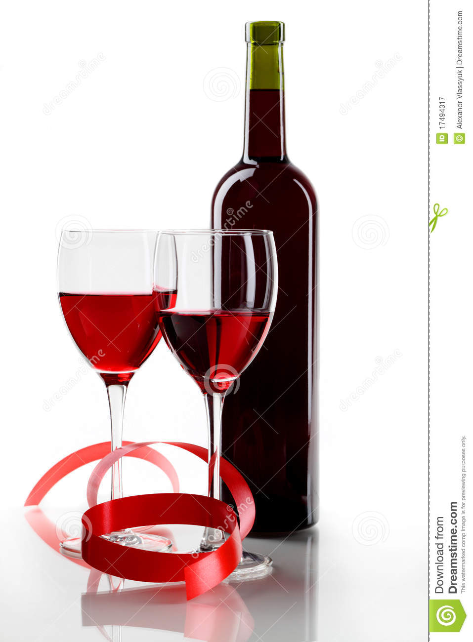 Bottle with red wine and glass royalty free stock for Wine bottle glass