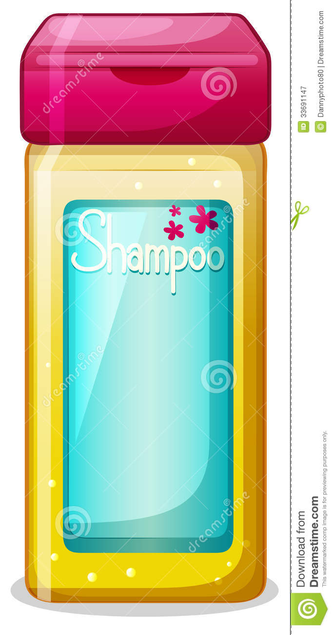 Shampoo And Conditioner Bottles Clip Art A bottle of shampoo