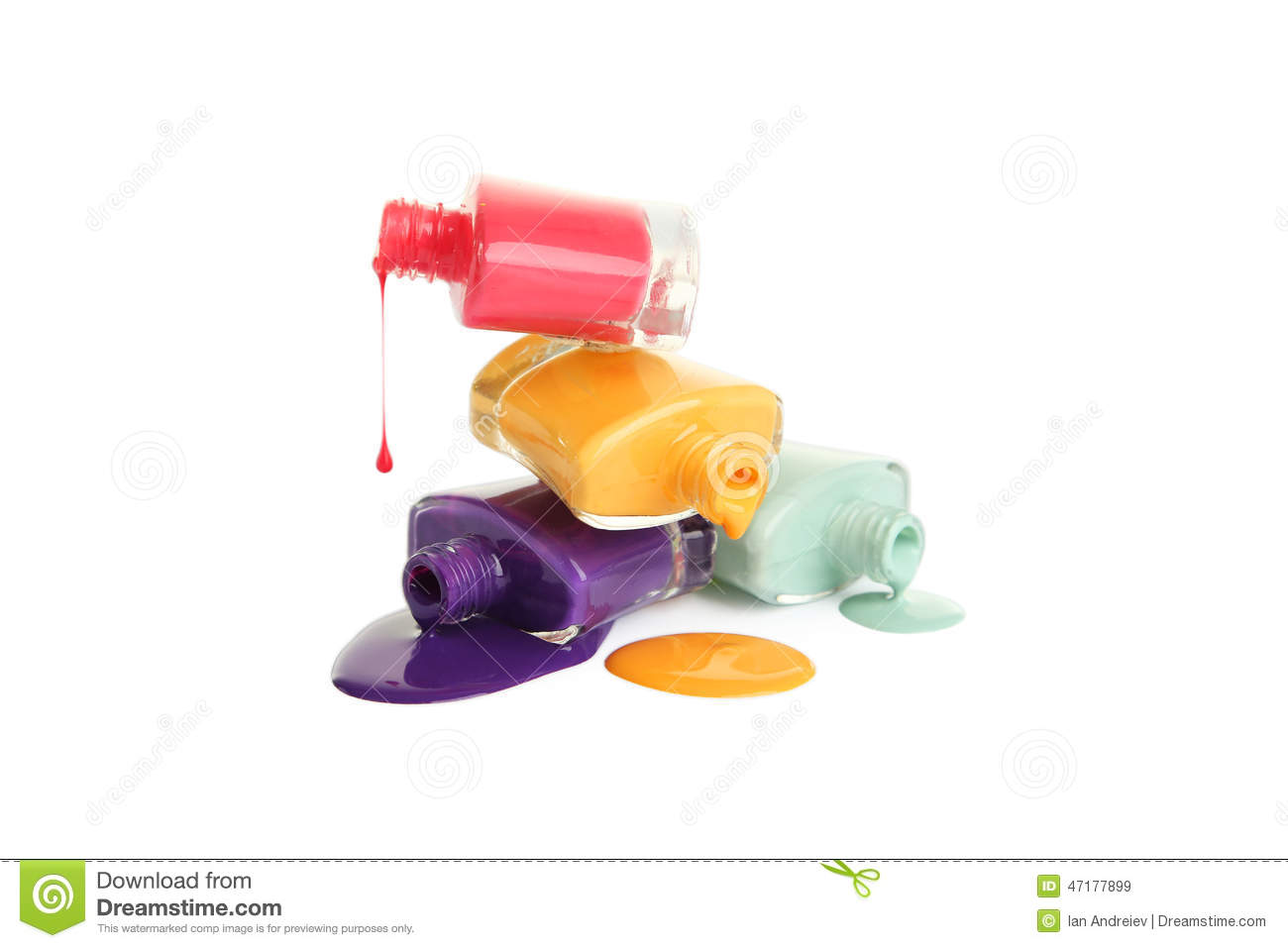 spilled nail polish coloring pages - photo#16