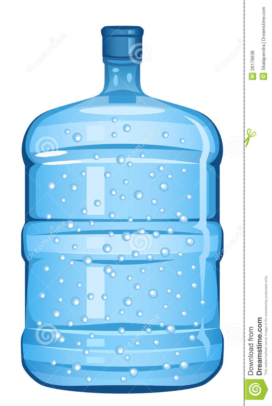 Bottle Water Stock Vector Illustration Of Gallon Clean