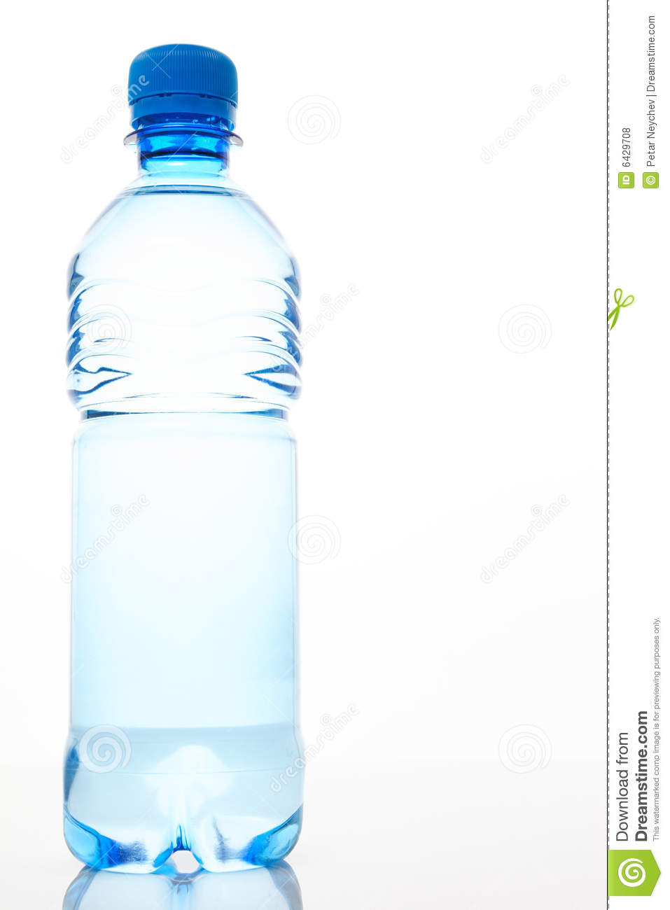 A Bottle Of Water Royalty Free Stock Photos Image 6429708