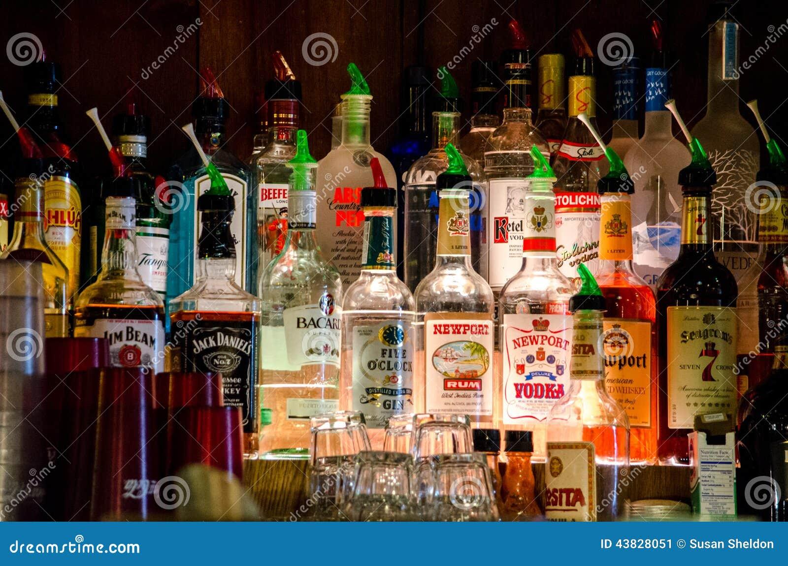 Alcoholic Drinks Bac