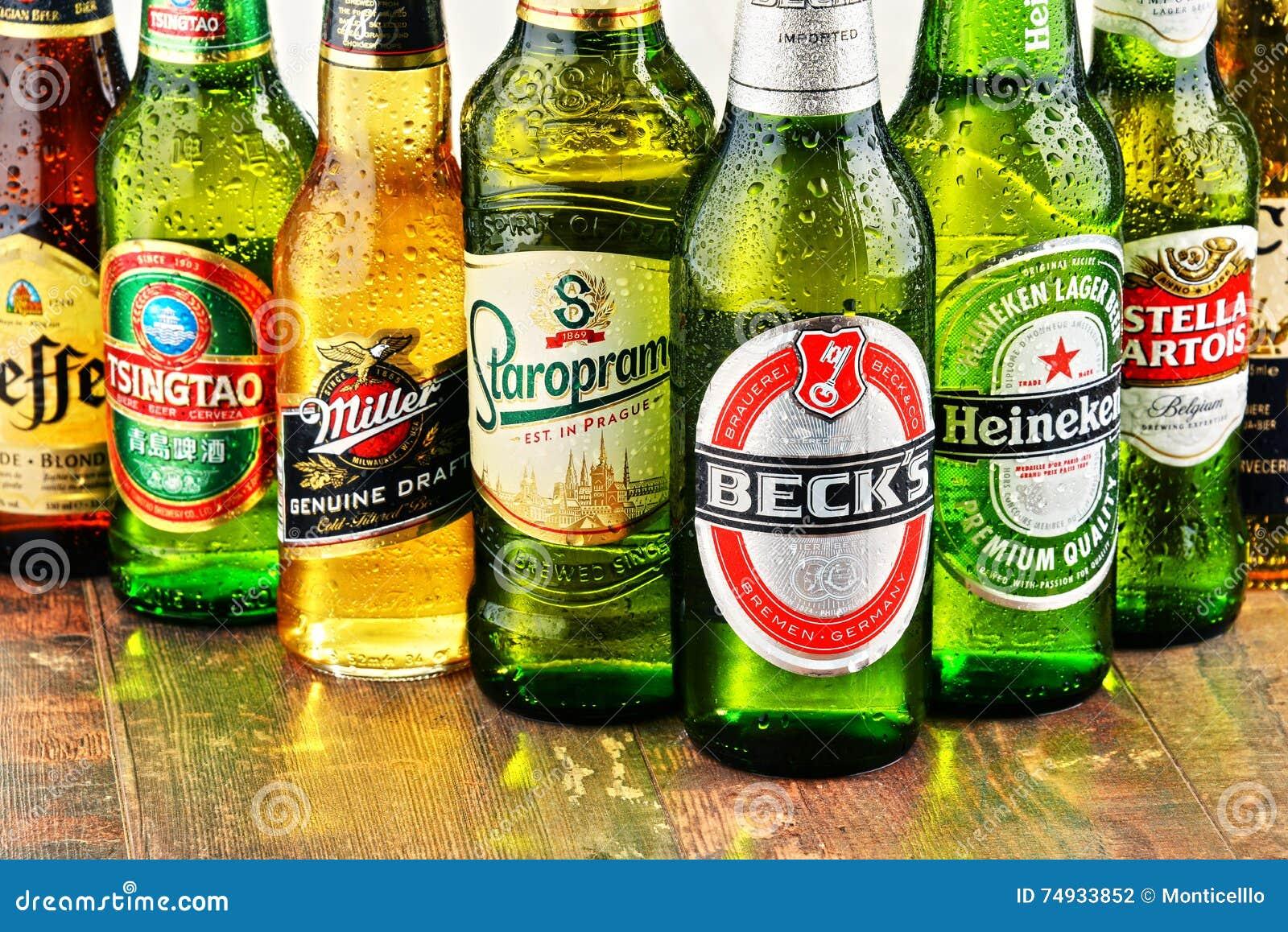Z Beer Brands Bottles Of Asso...