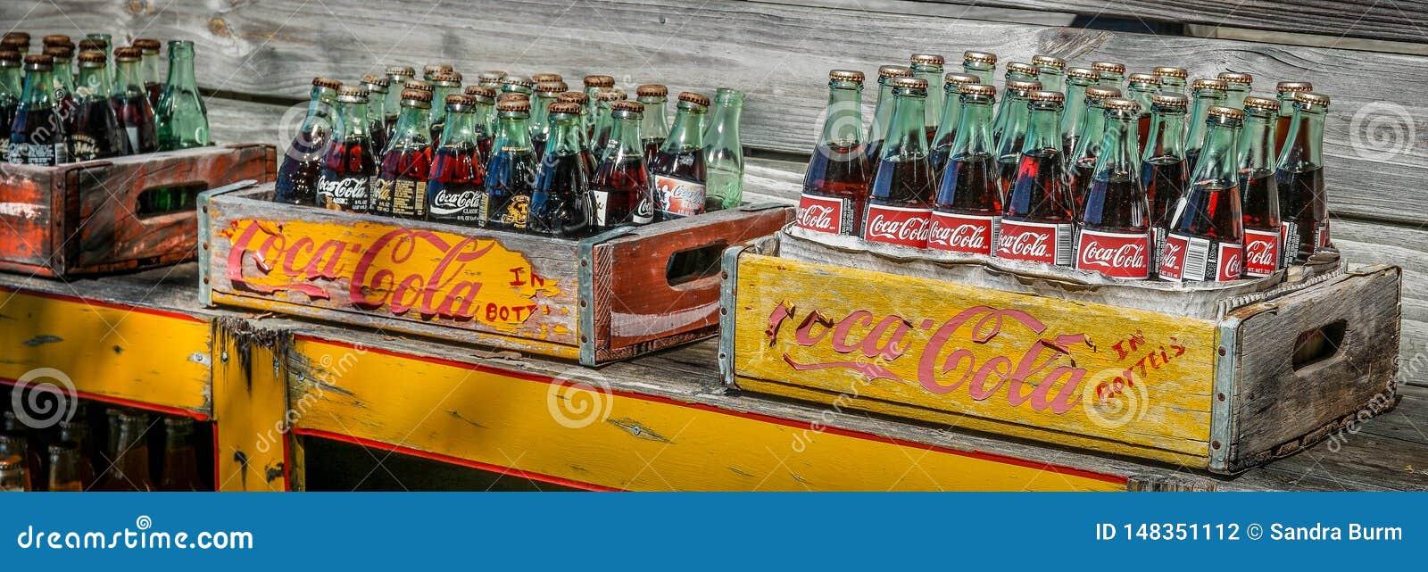 Bottles cocaen - colatappning
