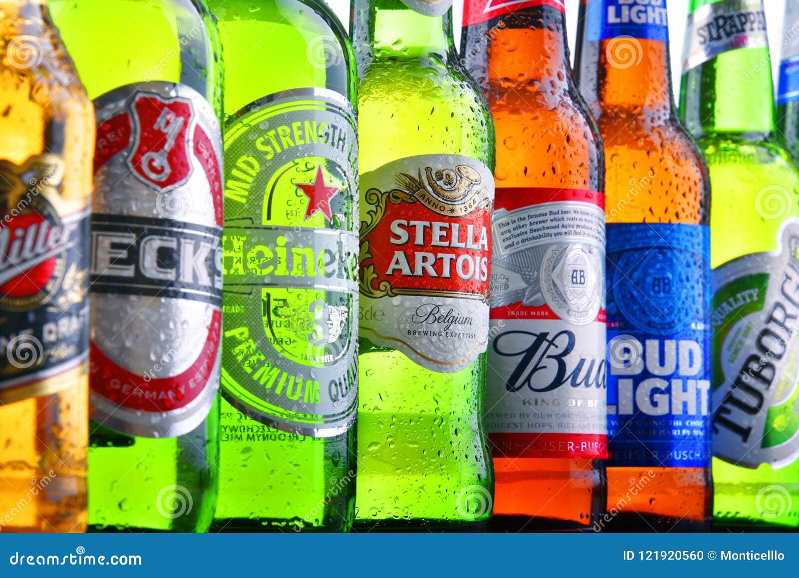 Z Beer Brands Bottles Of Famo...