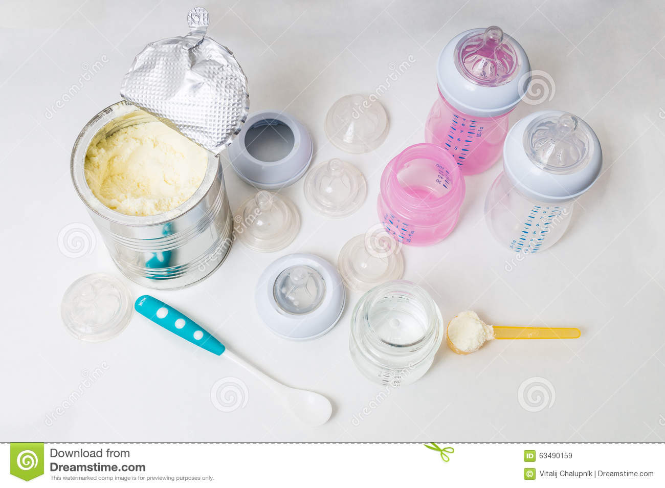 two baby bottles on cream color background 3d baby diaper pin clipart baby diaper clipart free