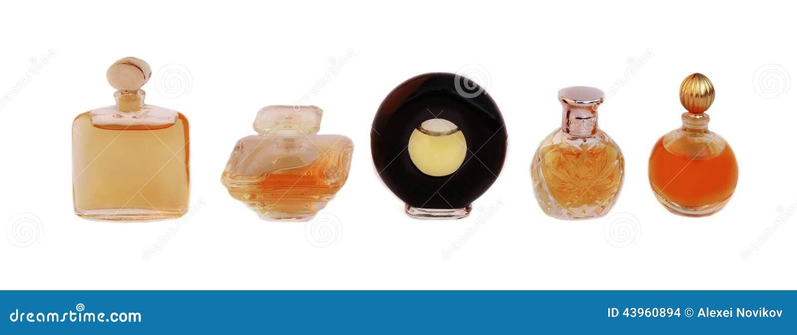 Bottles perfekt doft för reklamfilmkvinnligtidskrifter