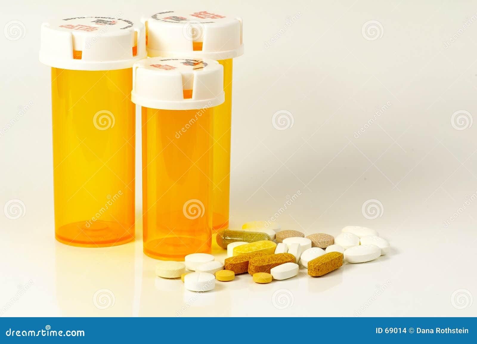 Bottles pillen