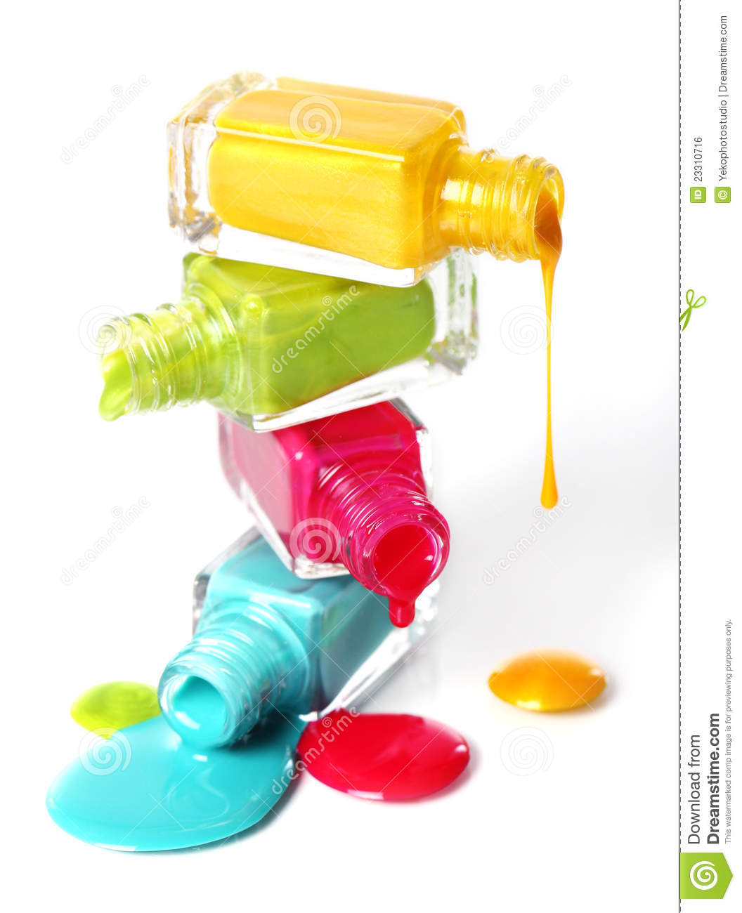 spilled nail polish coloring pages - photo#30
