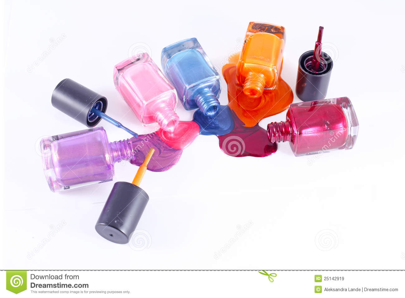 spilled nail polish coloring pages - photo#27