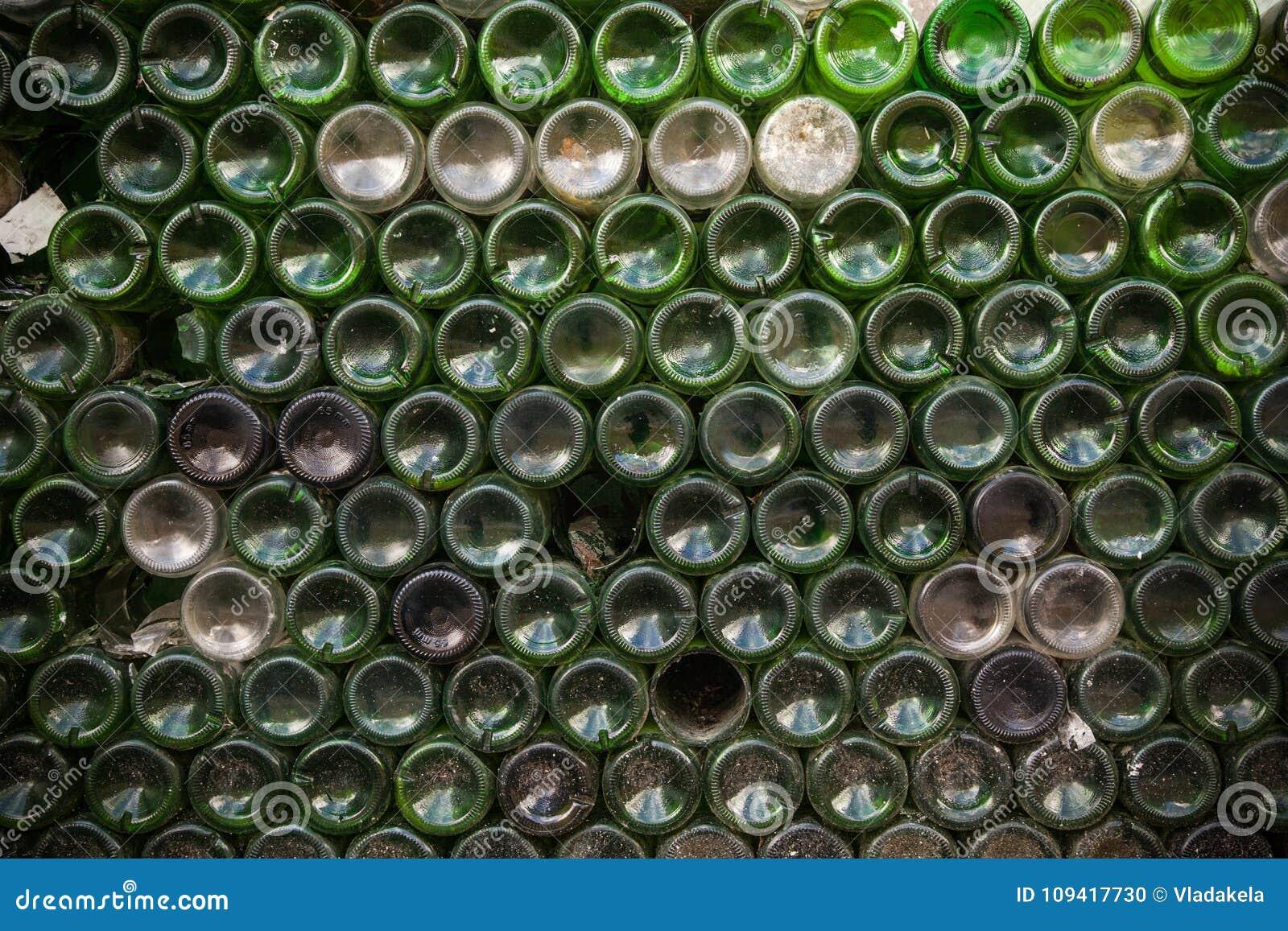 Bottom of an empty bottle