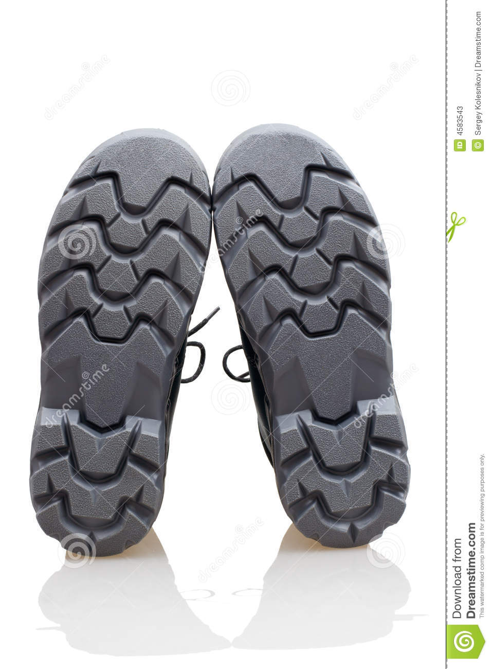Bottom of shoes stock image. Image of