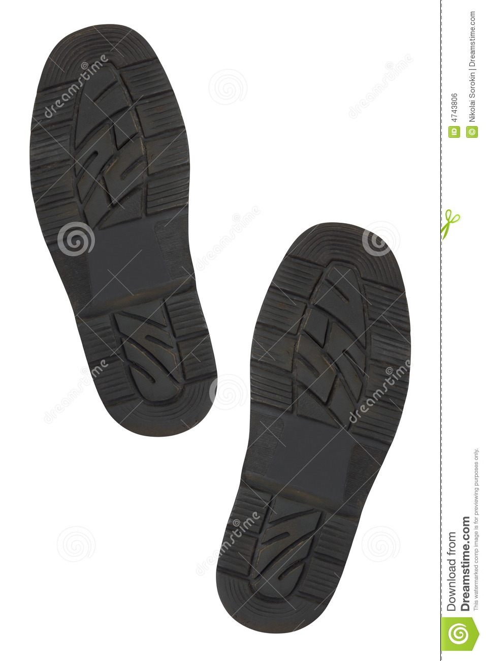 Bottom Of Shoes Stock Photo Image Of Dirt Black Prints