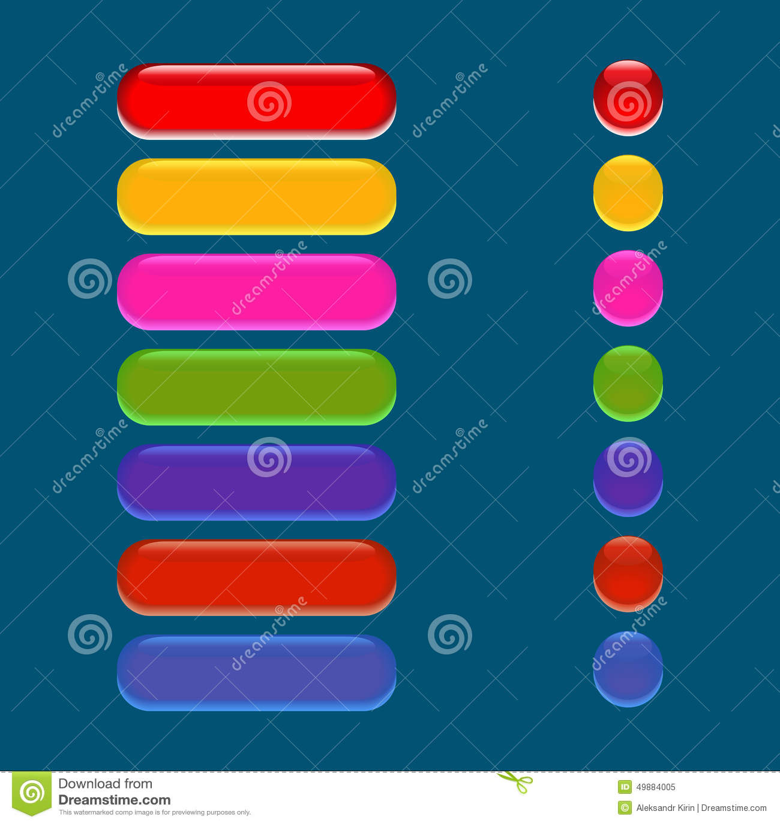 Bottone di vetro