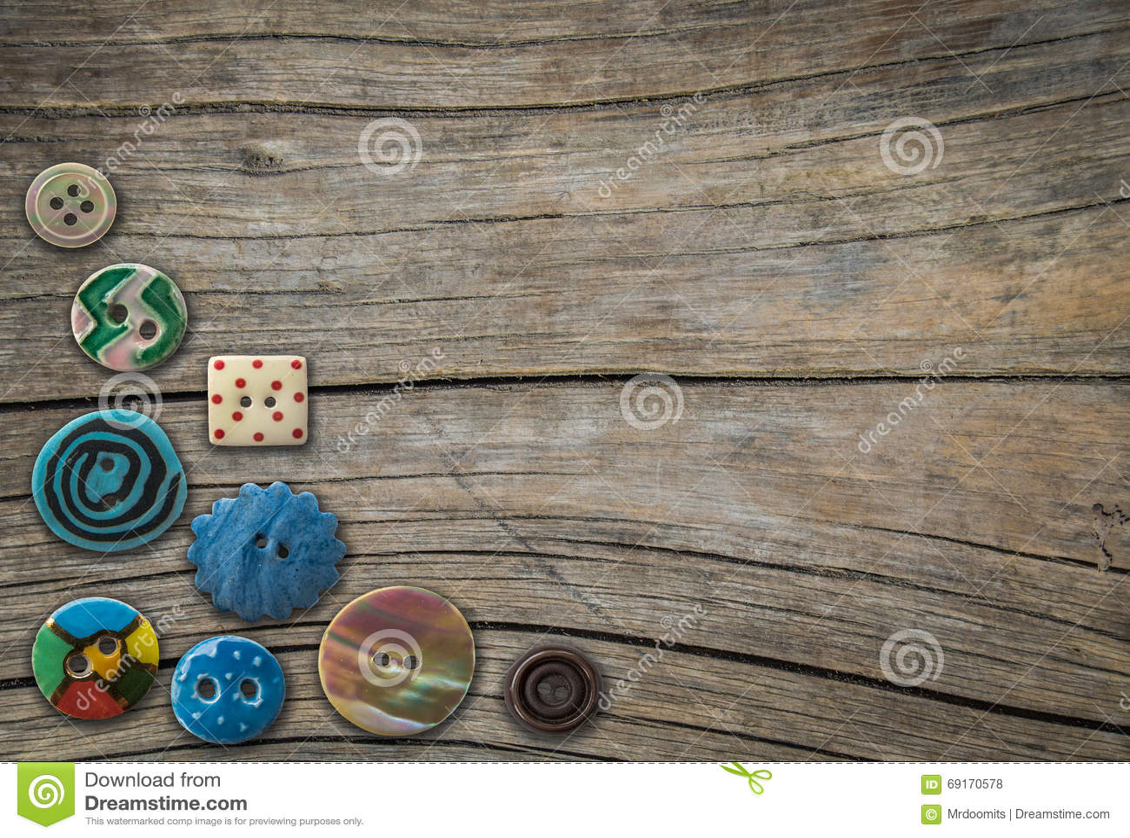 Bottoni decorativi d annata