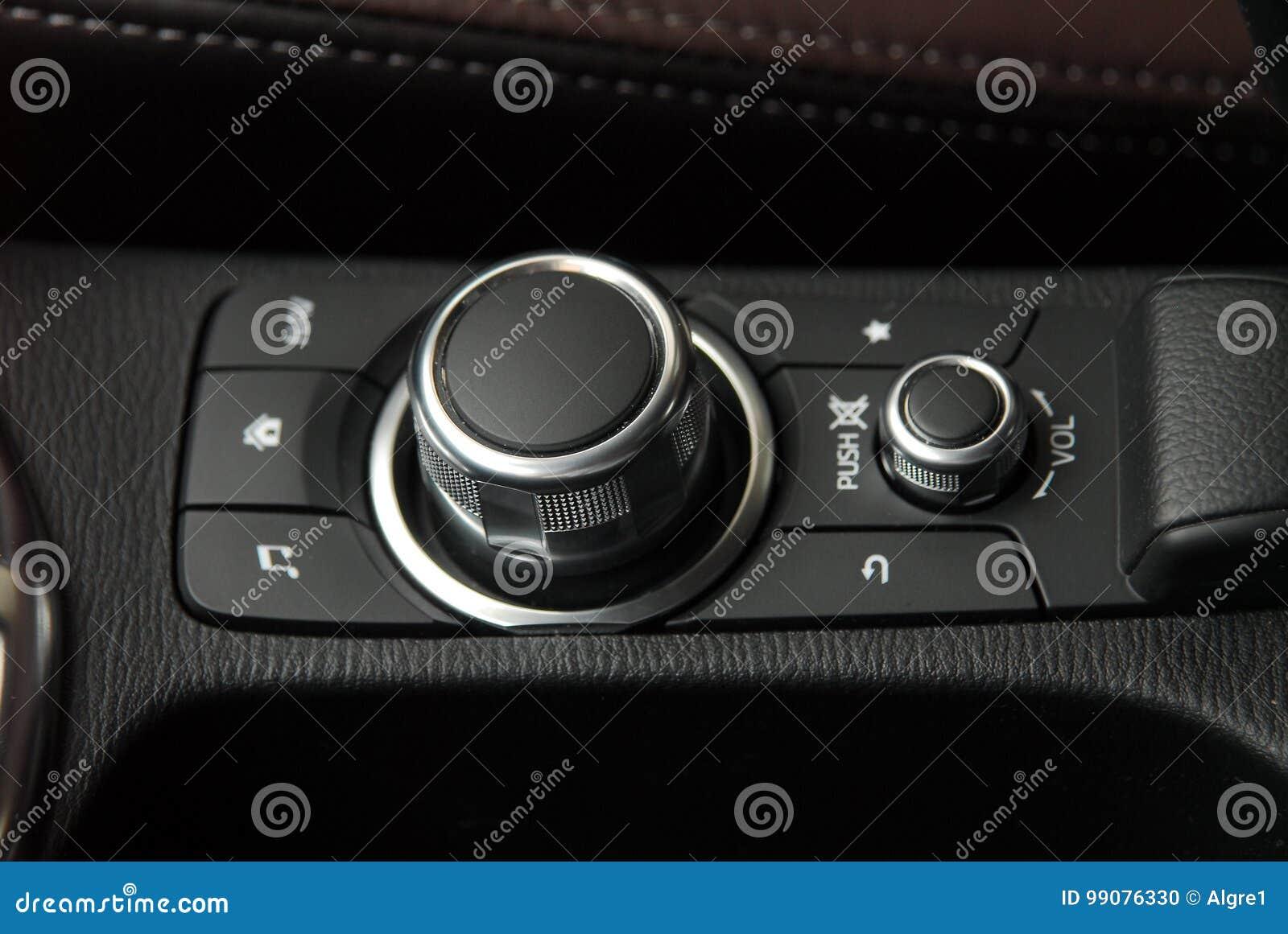 Bottoni del pannello dell automobile