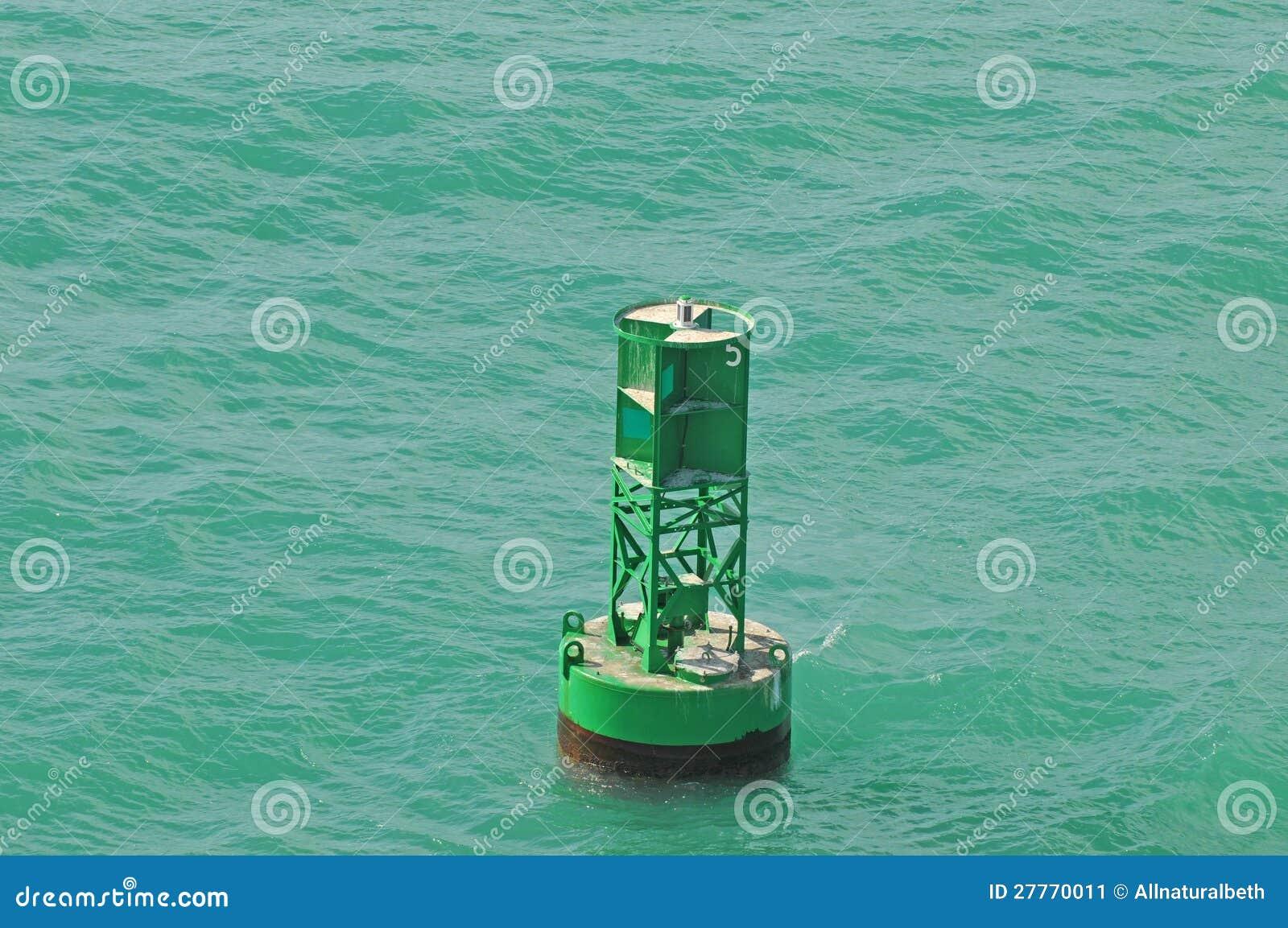 Bouée dans l océan