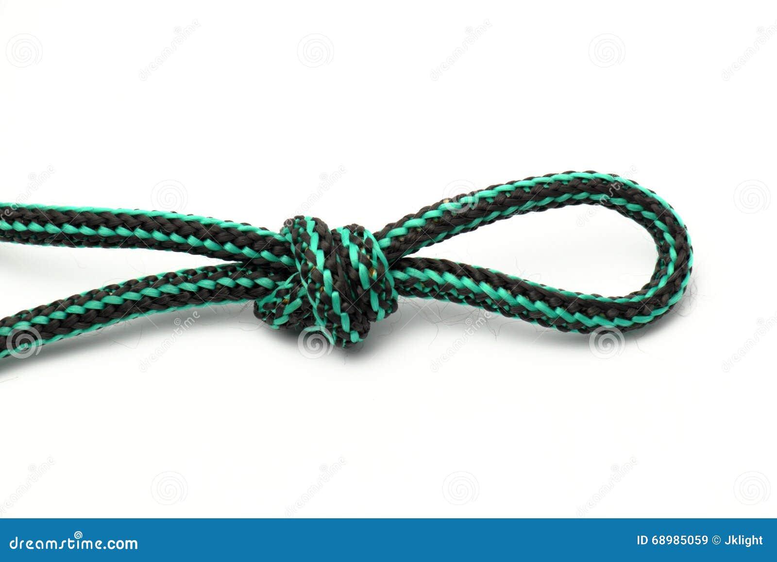 boucle et noeud de corde illustration stock image 68985059. Black Bedroom Furniture Sets. Home Design Ideas
