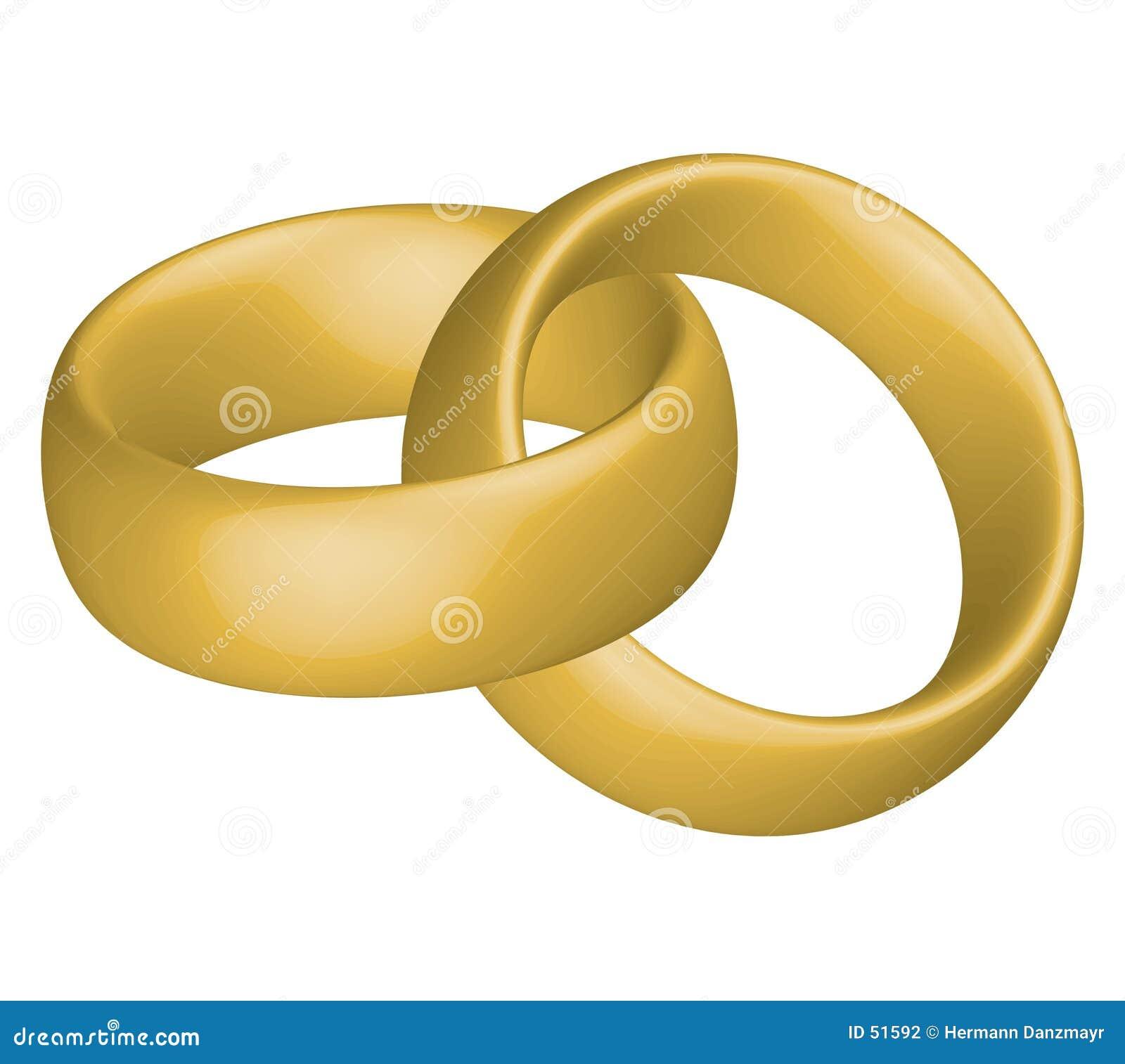 Download Boucles de mariage illustration stock. Illustration du boucles - 51592