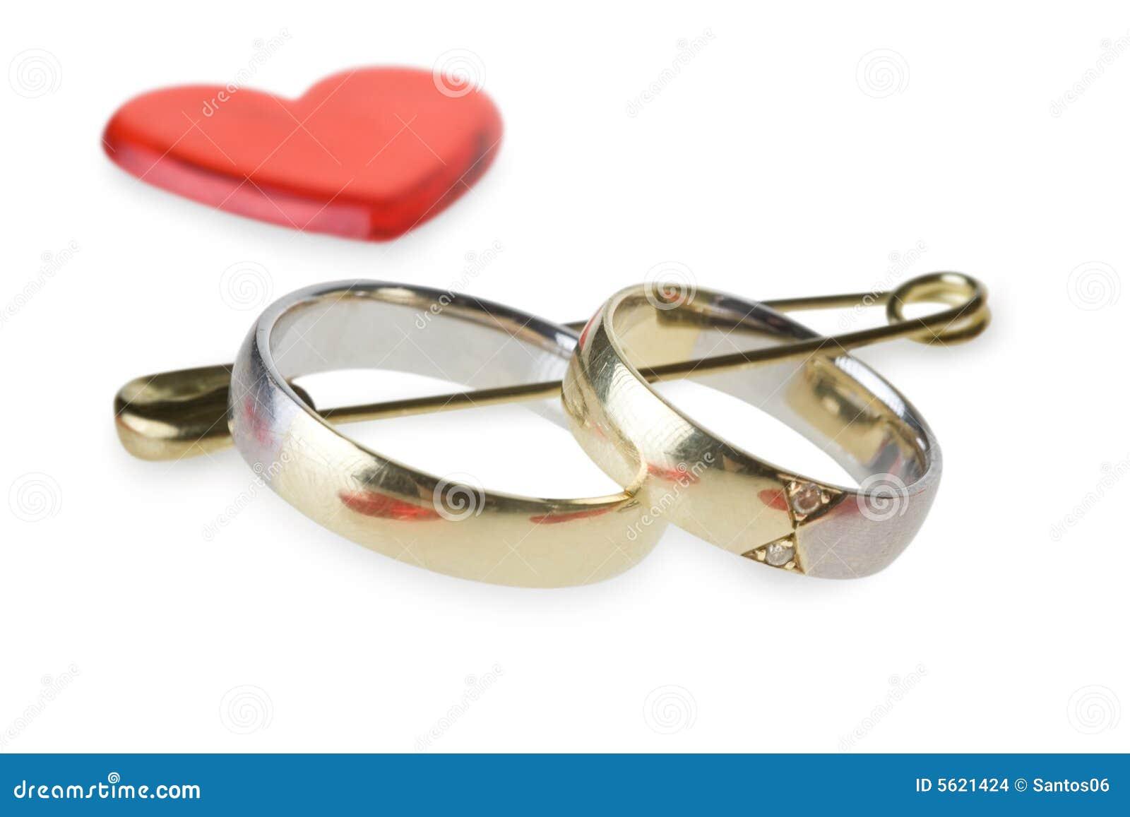 boucles de mariage dans l pingle de nourrice - Epingle A Nourrice Mariage