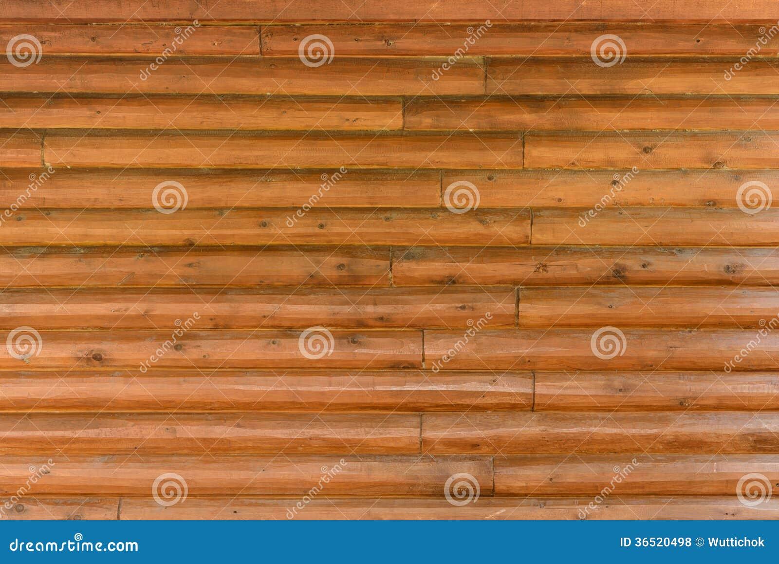 Bouclier avec un grand nombre de rondins en bois parallèles