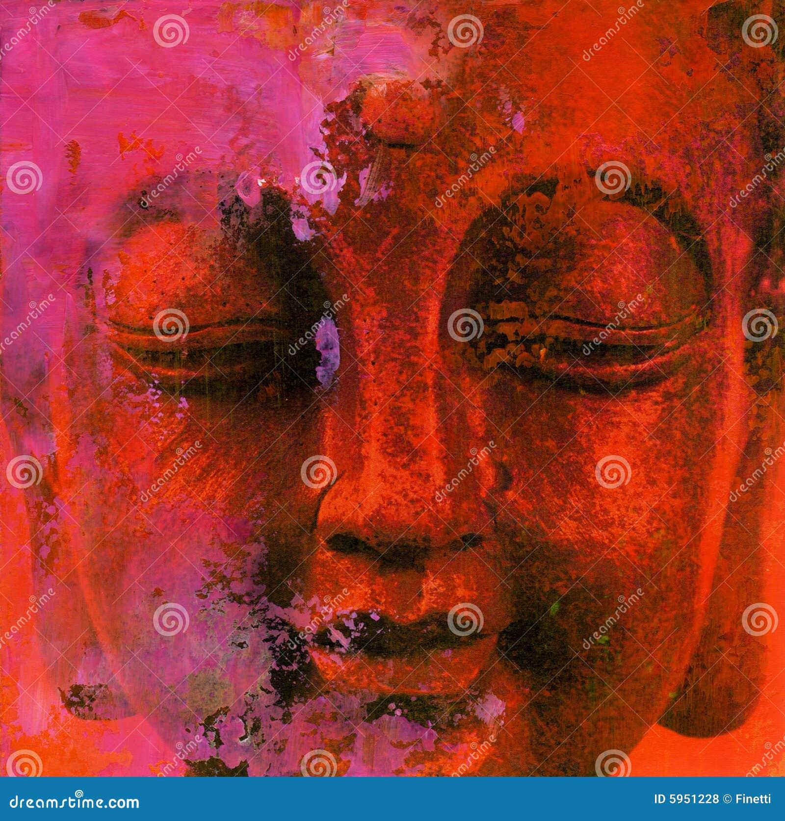 Bouddha abstrait