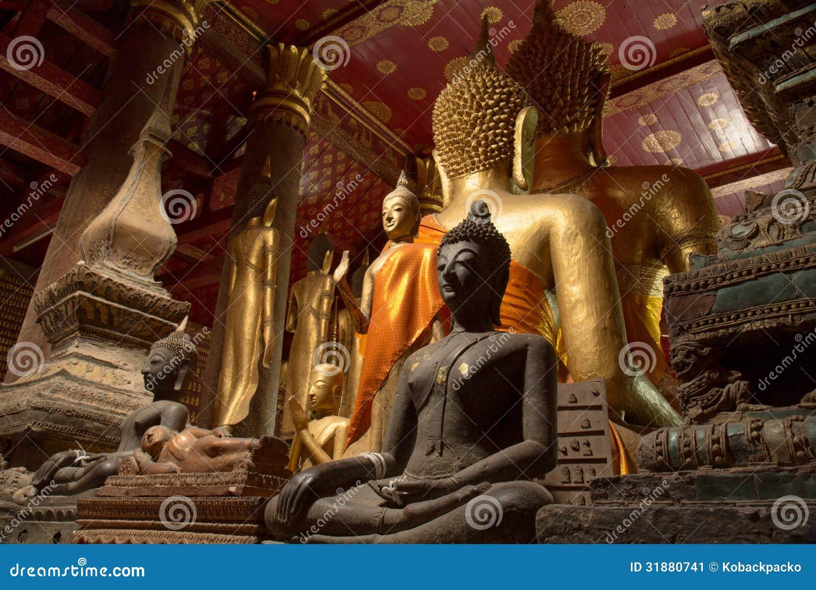Bouddha du Laos du nord