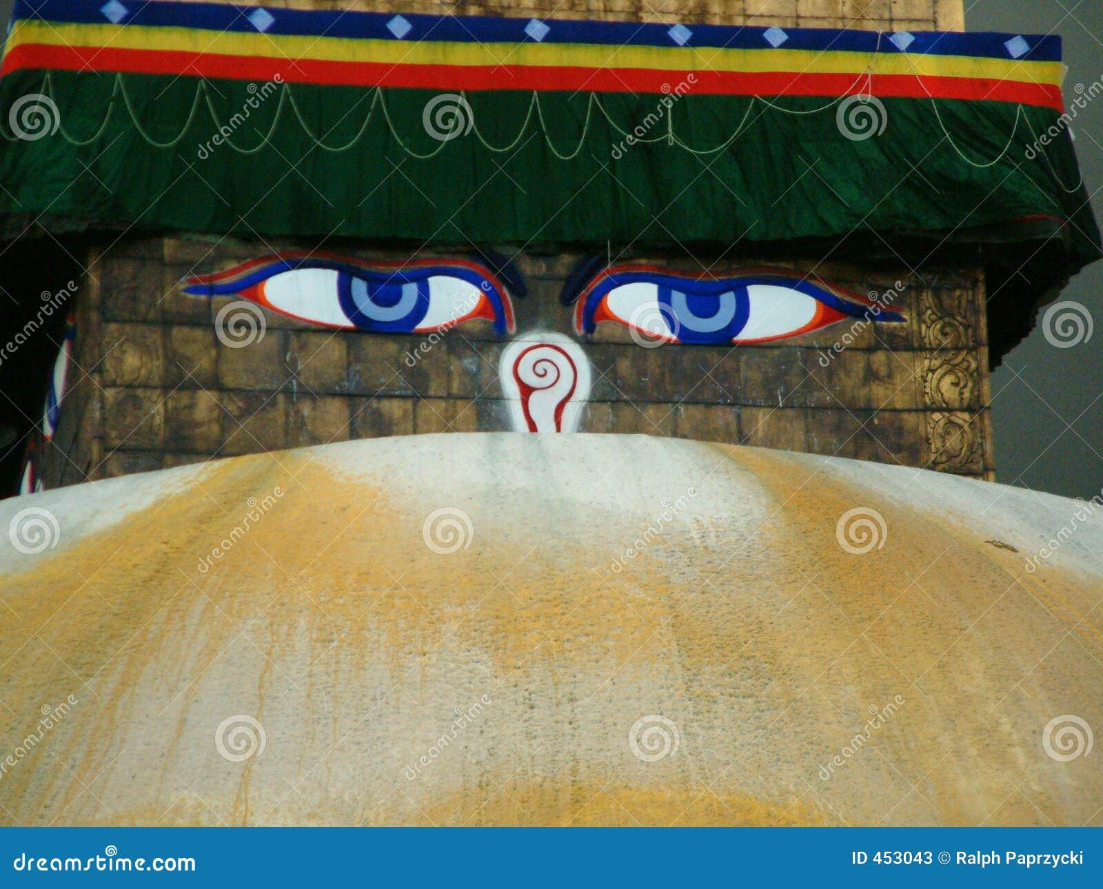 Download Bouddhanath Stupa, Kathmandu Stock Image - Image of temple, unity: 453043