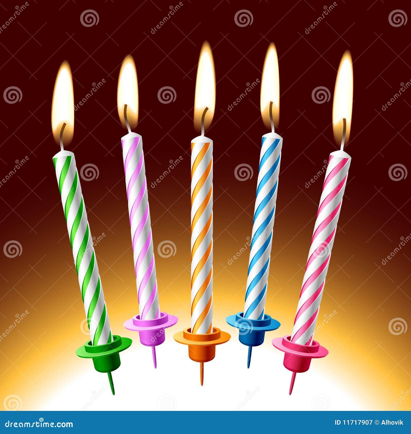 Bougies d anniversaire
