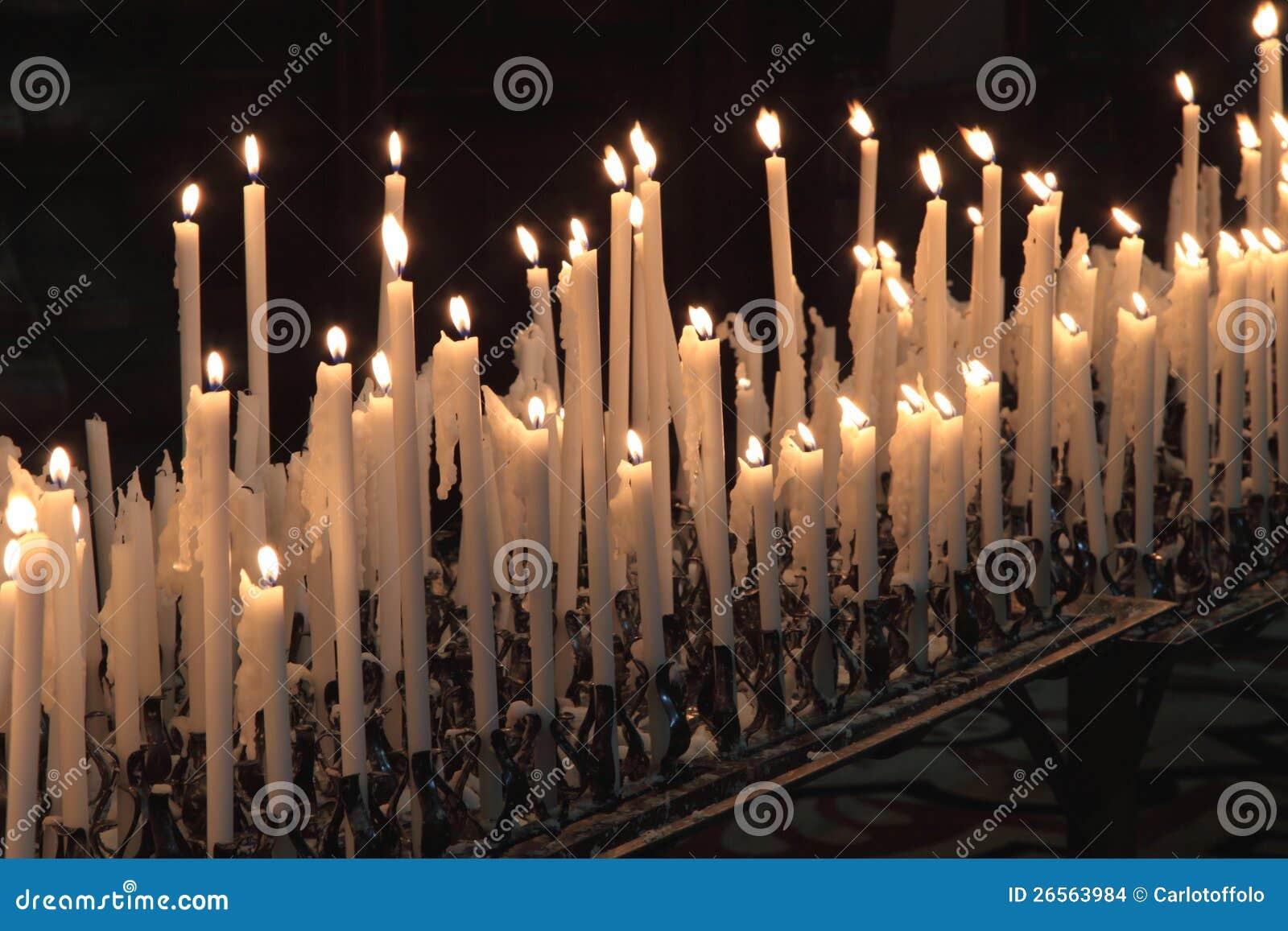 Bougies de dévotion