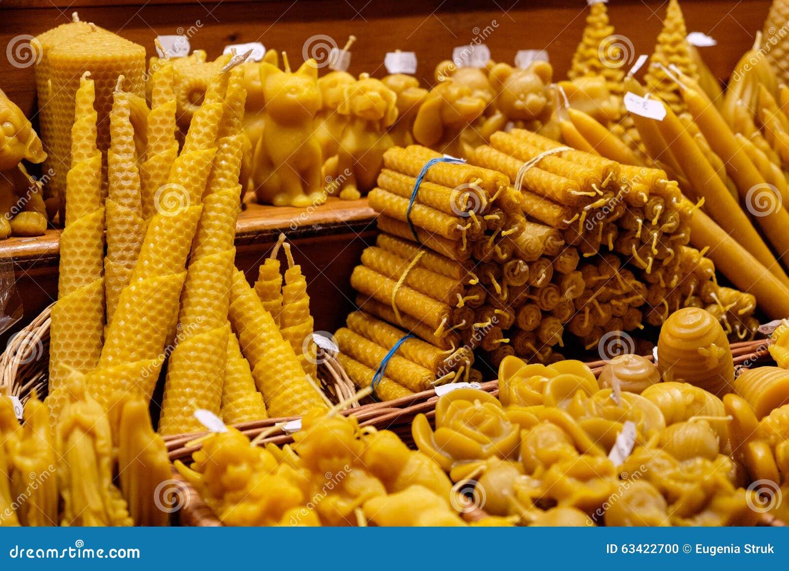Bougies de miel au march de no l vienne autriche - Marche de noel vienne ...