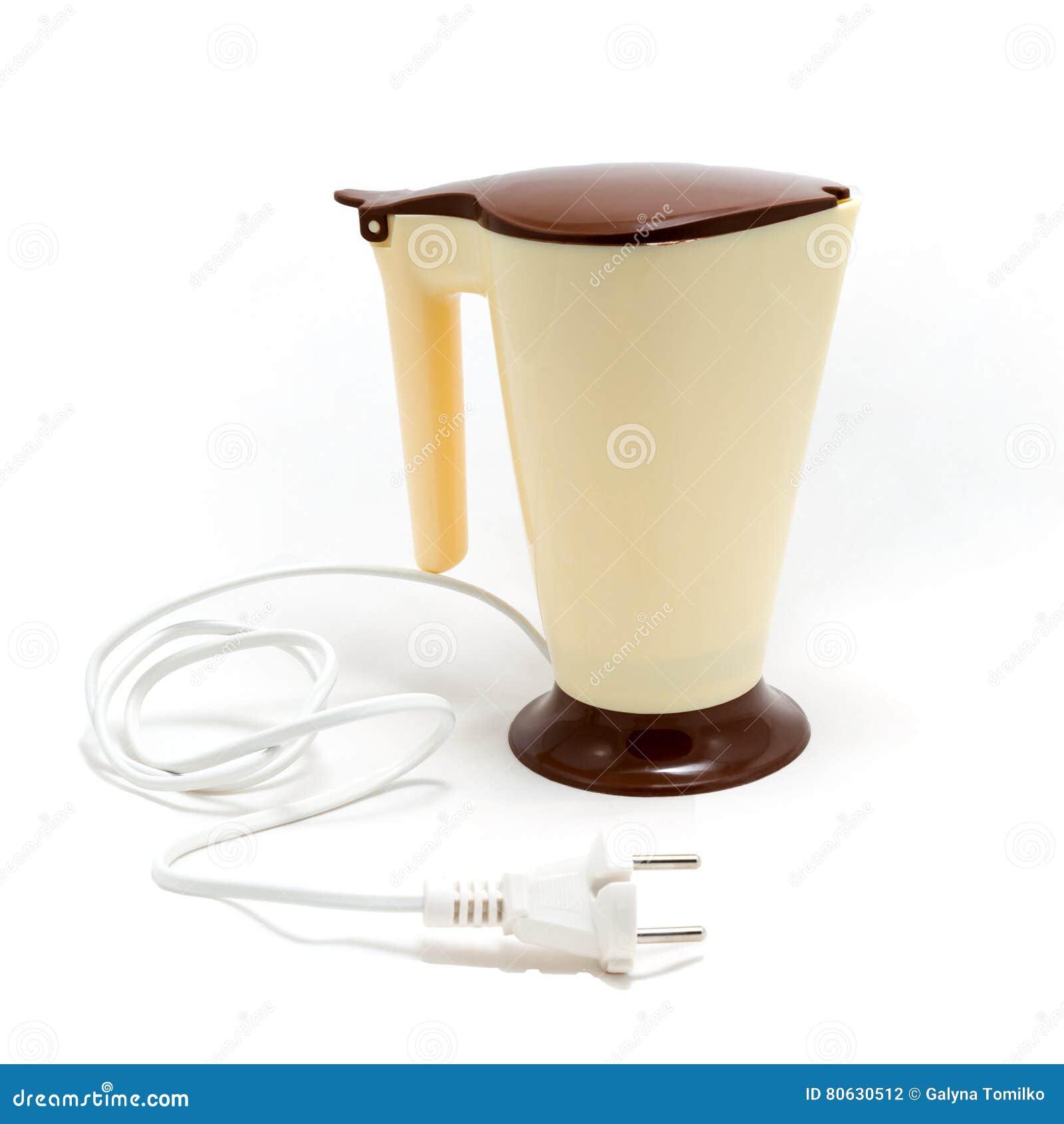 Bouilloire électrique D'isolement Photo stock Image du