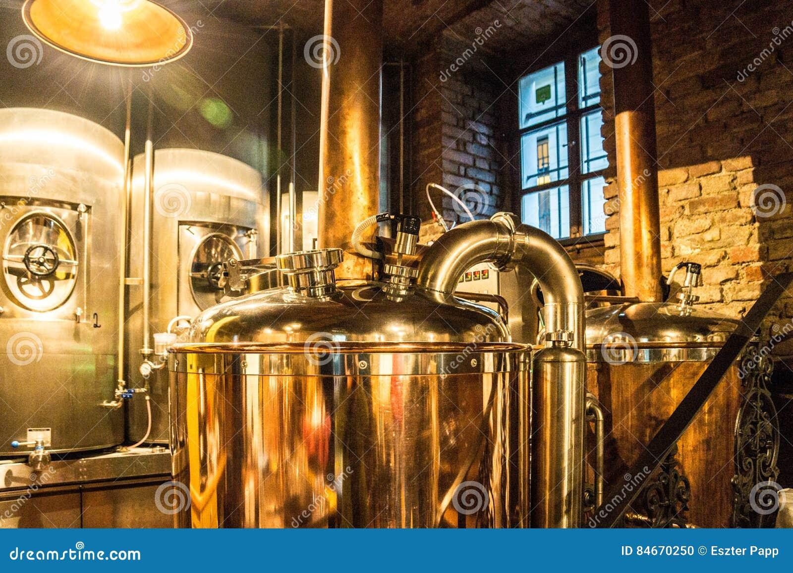 Bouilloire de brasserie de bière de style de Steampunk