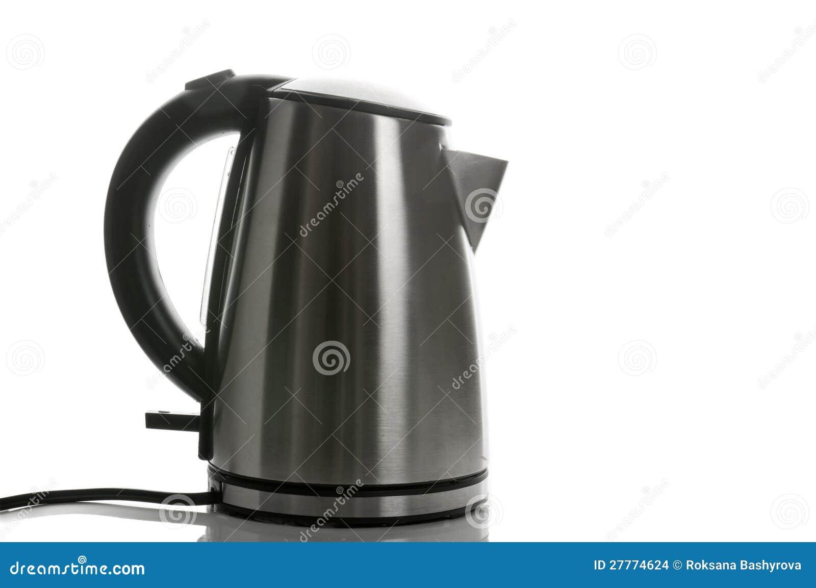 Bouilloire de gris argenté