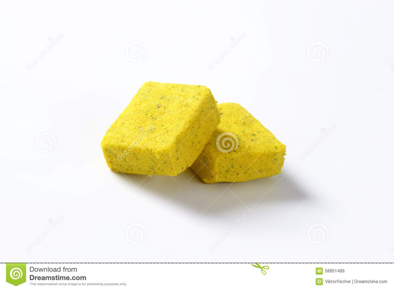 Bouillon cubes stock image  Image of vegetable, dried - 58951489
