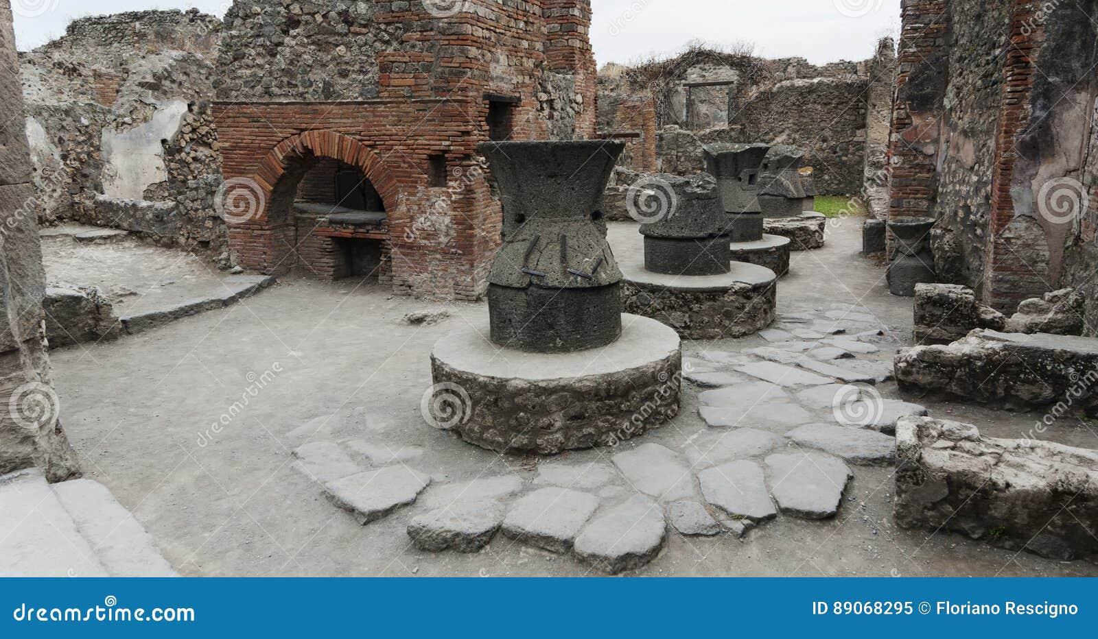 Boulangerie à Pompeii